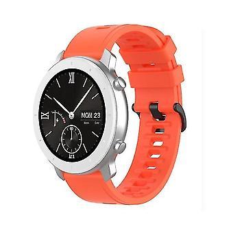 Vervangende horlogeband voor Amazfit GTR Maat 22 mm oranje rood