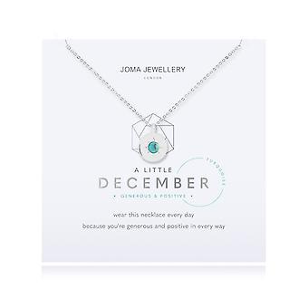 Joma smykker fødselssten en lille december turkis halskæde 4665