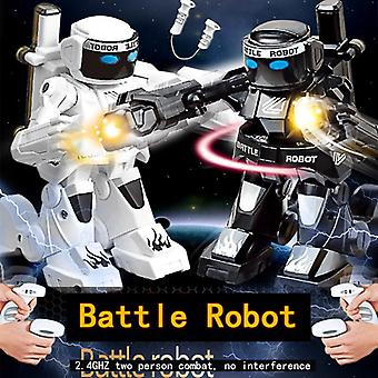 To Fighting Kids RC Robot Toy Robots for Boy Cool Stuff Funny Electric Toys Children Sensory Remote Control Robotic Fight Boxing