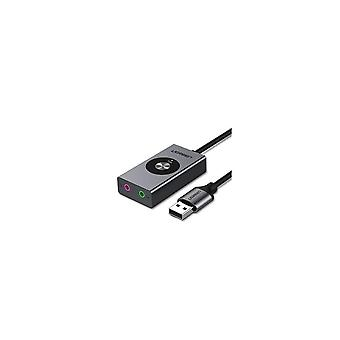 CM190 USB7.1 Kanál Externí zvuková karta Stereo Micphone Sluchátka Sluchátka Adaptér