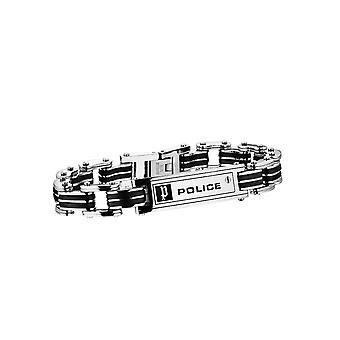 Police jewels men's bracelet large pj24919bsb01-l