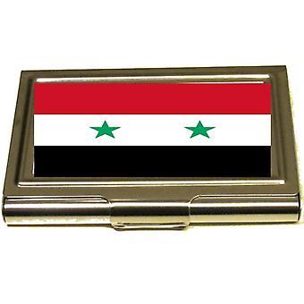 Korthållare  - Syria Flagga