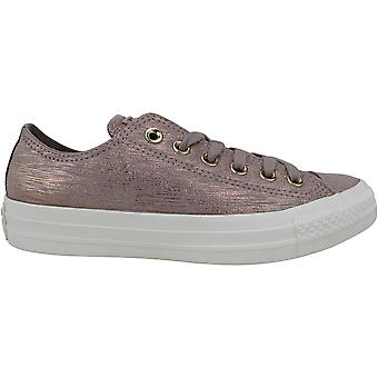 Converse Chuck Taylor All Star OX Diffused Taupe/Metallic Taupe 561649C Women's