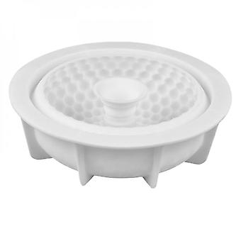 Silicone Mold Round Grid Bakeware Cake Mold Decoration Tools Non-stick Bakeware Silicone