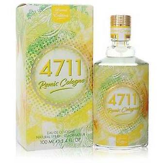 4711 Remix Par 4711 Eau De Cologne Spray (unisexe 2020) 3.4 Oz (hommes)