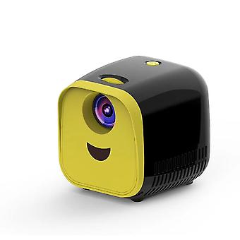 Full HD 1080P Mini Projektori L1 Mini Lasten mini varhaiskasvatus projektori sarjakuva tarina