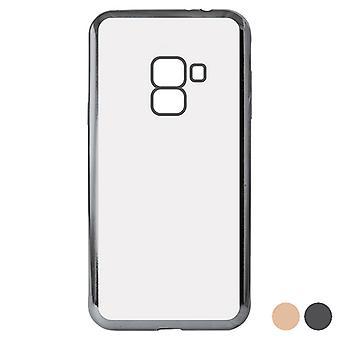 Mobildeksel Galaxy A8 2018 Flex Metal