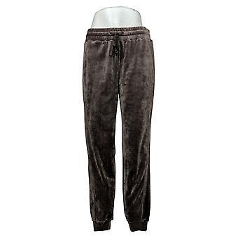 Soft + Cozy Women's Pants Reg Polyester Joggers Brown 627589