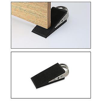 Door stops homemiyn rubber door stopper  premium heavy duty wedge non-scratching door stop  anti-slip garden