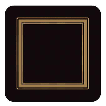 Pimpernel Classic Black Coasters Set of 6