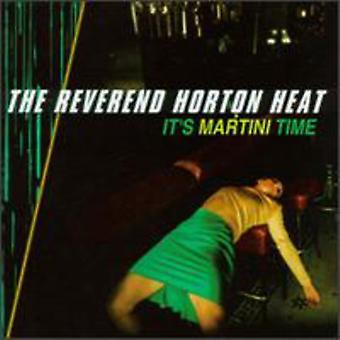 Reverend Horton Heat - il est temps de Martini [CD] USA import