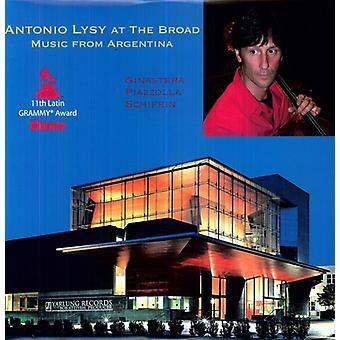 Bragato/Ginastera/Golijov/Piazzolla/Schifrin - Antonio Lysy at the Broad: Music From Argentina [Vinyl] USA import