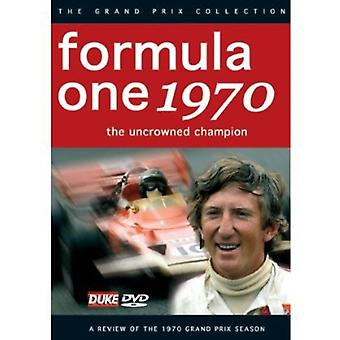 F1 Review 1970 Uncrowned Champion [DVD] USA import