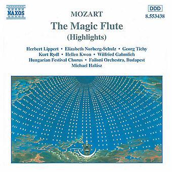 W.a. Mozart - Mozart: Taikahuilu (Poimintoja) [CD] USA tuonti