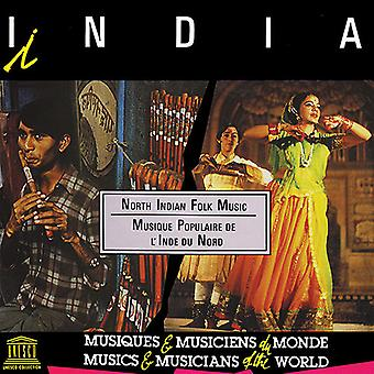 Various Artist - India: North Indian Folk Music [CD] USA import