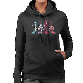 Crystal Road Steven Universe Women's Hooded Sweatshirt
