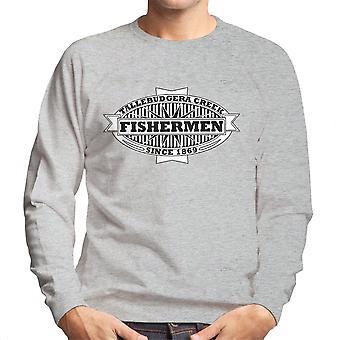 Los pescadores Tallebudgera Creek 1869 negro camiseta de los hombres