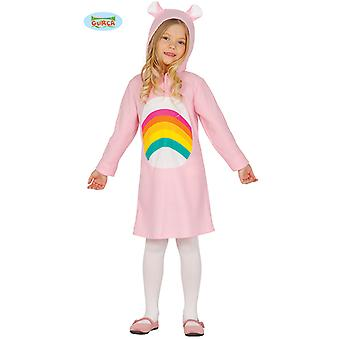 Regenbogen Bär  Teddybär Mädchen Kostüm