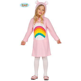 Regenboog bear teddybeer meisje kostuum