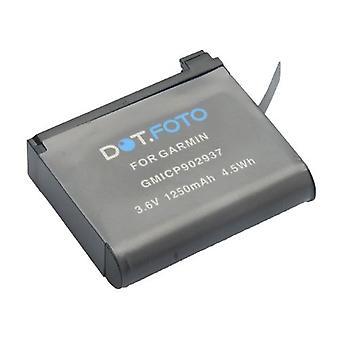 Dot.Foto Garmin GMICP902937, 361-00087-00, 010-12389-15 udskiftningsbatteri - 3.6v / 1250mAh - Garmin Virbla Ultra 30