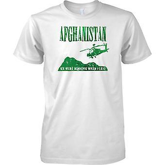 Afghanistan - vi var vant da jeg forlot - britiske hæren - Royal Marines - Mens T-skjorte