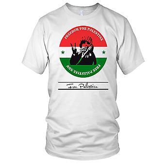 Gratis Palestina - kamp fred Mens T-skjorte