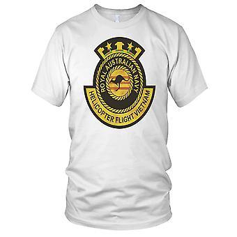 Königliche australische Marine Hubschrauber Flug Vietnam Krieg Grunge Effekt Kinder T Shirt
