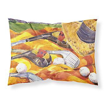 Golf Clubs Golfer Moisture wicking Fabric standard pillowcase