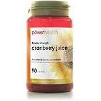 Power Health, Cranberry Double Stren 4500mg, 90 capsules