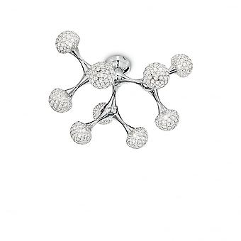 Ideal Lux Nodi cristal Pl9