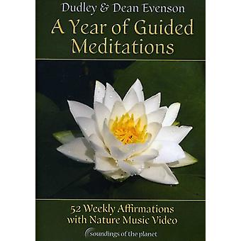 Evenson, Dudley & Dean - Year of Guided Meditations [DVD] USA import
