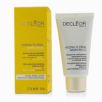Hydra kukka valkoinen terä lehti Neroli & amp; Makea oranssi iho täydentämällä kosteuttava nukkuva naamio-50ml/1.7 oz