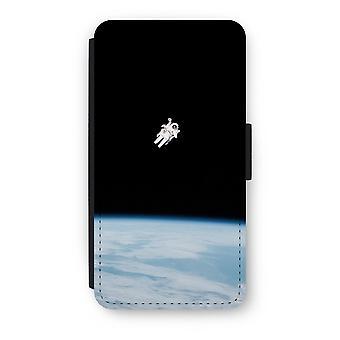 iPod タッチ 6 フリップ ケース - スペースで一人で