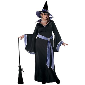 Incantasia The Glamour Witch Magic Sorcerer Wizard Womens Costume Plus