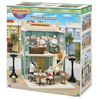 Sylvanian Families Delicious Restaurant Playset
