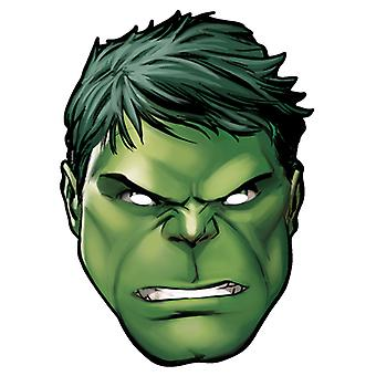 Hulk from Marvel's The Avengers Single Card Party Face Mask