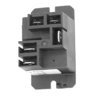 Potter & Brumfield T9AP5D52-12 SPDT 12VDC 20A Flange Power Relay