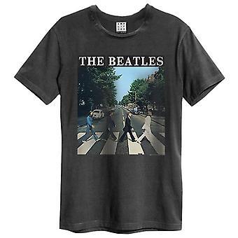 T-shirt amplifié The Beatles Abbey Road