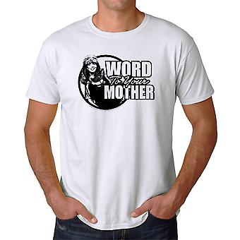 Married With Children Peggy Word Mother Men's White T-shirt