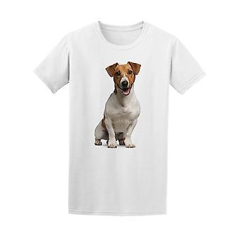 Jack Russell Terrier Panting Tee Men's -Image by Shutterstock