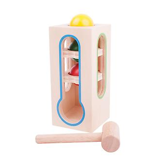 Bigjigs Toys Wooden Hammer Ball Fall Play Set Toy Children's Kid's