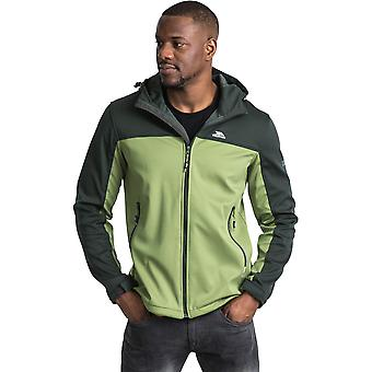 Overtreding Mens Palin Zip Wicking waterdichte Windproof Softshell jas