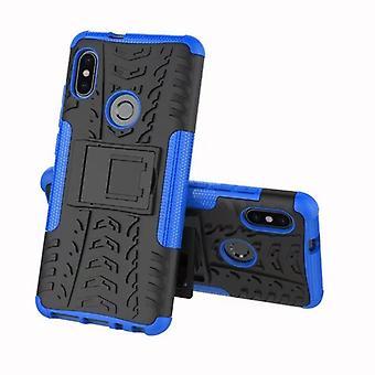 Voor Xiaomi Redmi gewaardeerd 5 hybrid case 2 stuk SWL outdoor Blau Pouch Pocket mouw cover bescherming