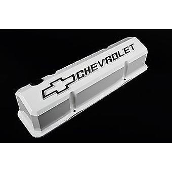Proform 141-935 Slant Edge Valve Cover for Small Block Chevy, White
