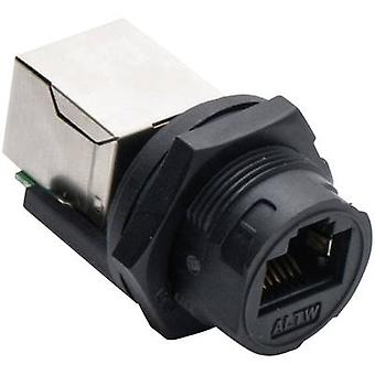 Amphenol LTW 2610-0401-01 Sensor/actuator data cable Socket, built-in No. of pins (RJ): 8P8C 1 pc(s)
