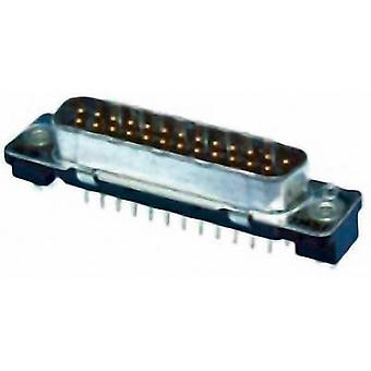 TE Connectivity AMPLIMITE HD-20 2-5747704-0 D-SUB pin strip 180 ° Number of pins: 25 Print 1 pc(s)