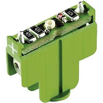 RAFI 22FS+ 5.05.511.747/0500 LED Green 12 V DC 1 pc (s)
