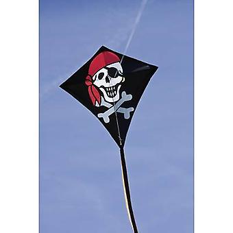 Single line Kite HQ Eddy Jolly Roger Wingspan 680 mm Wind speed range 2 - 5 bft