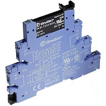 Finder 38.81.7.024.9024 - 2A Relay Interface Module, SSR, SPST-NO 24V DC