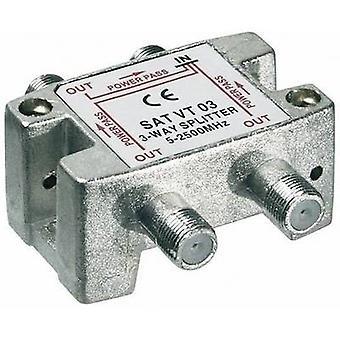 Goobay lör VT 03 lör splitter 3-vägs 5-2450 MHz